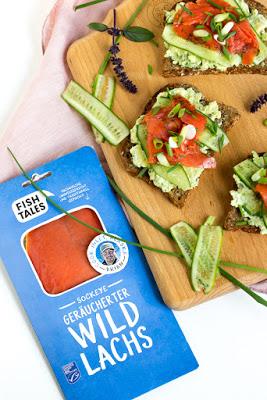 Lachs-Avocado Brote - Rückblick auf einen Lachsreichen Abend mit Bart`s Fish Tales 18