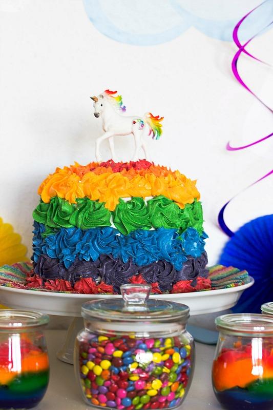 Ideen für eine tolle Einhorn / Regenbogen Party 33
