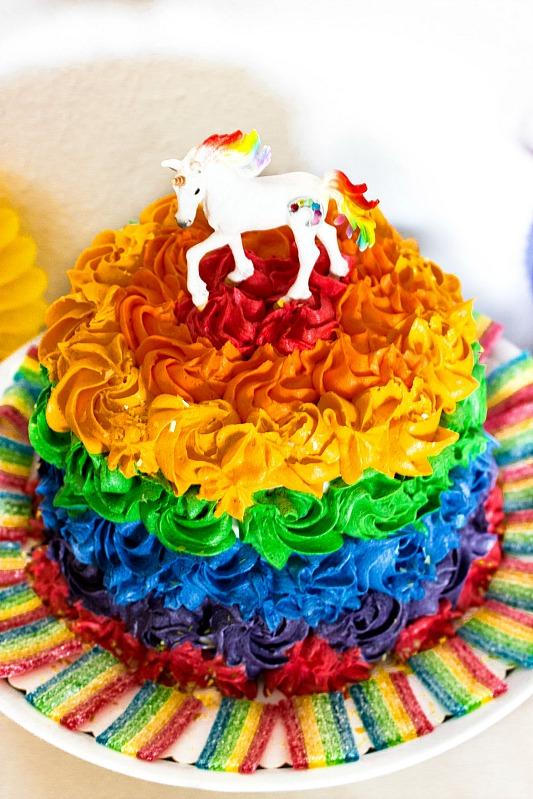 Ideen für eine tolle Einhorn / Regenbogen Party 3