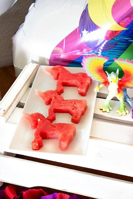 Ideen für eine tolle Einhorn / Regenbogen Party 8