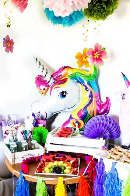 Ideen für eine tolle Einhorn / Regenbogen Party 1