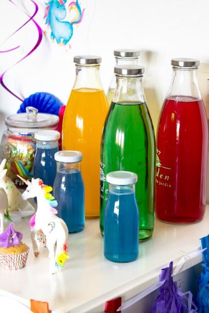 Ideen für eine tolle Einhorn / Regenbogen Party 5