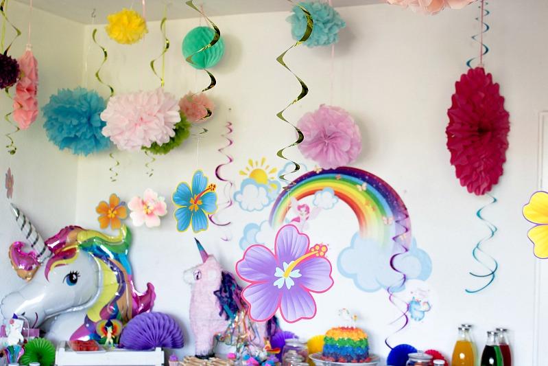 Ideen für eine tolle Einhorn / Regenbogen Party 15