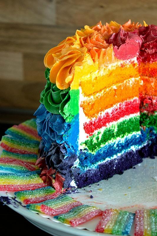 Ideen für eine tolle Einhorn / Regenbogen Party 25