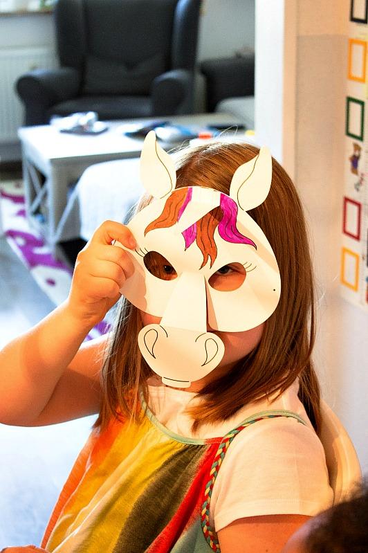 Ideen für eine tolle Einhorn / Regenbogen Party 43