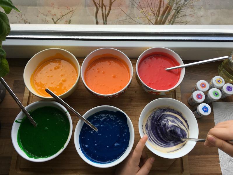 Ideen für eine tolle Einhorn / Regenbogen Party 21