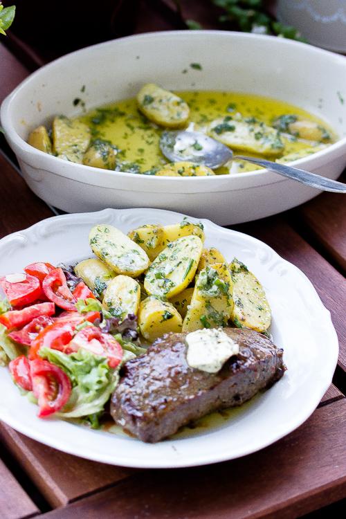 Parmesan-Kräuter Kartoffeln, eine tolle Beilage zum Grillen 18
