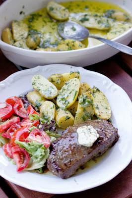 Parmesan-Kräuter Kartoffeln, eine tolle Beilage zum Grillen 23