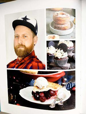 """Cremiger Blaubeer Pie mit Knusperstreuseln -""""Bake in the USA"""" ein Buch auf Reisen 6"""