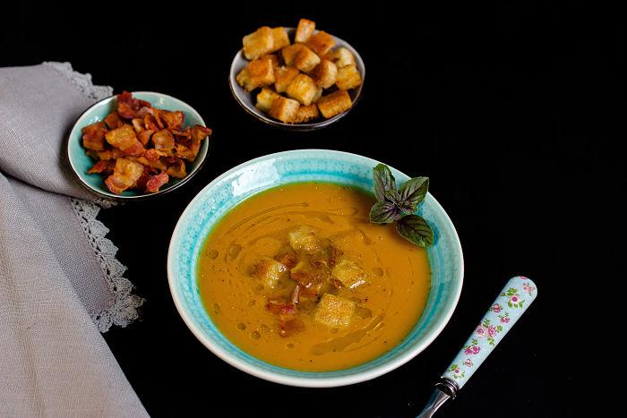 Süßkartoffel-Suppe