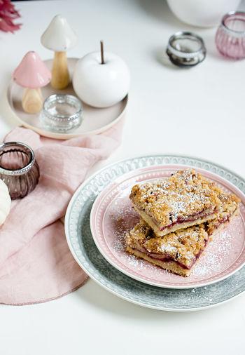 Coffee Cake mit Brombeeren oder ein schneller Brombeer-Streuselkuchen 6