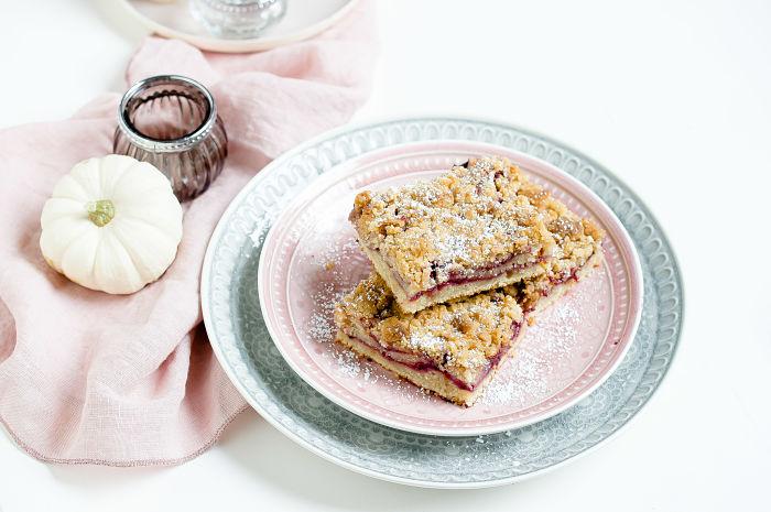 Coffee Cake mit Brombeeren oder ein schneller Brombeer-Streuselkuchen 5