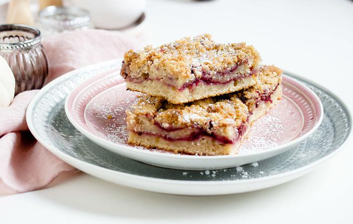 Coffee Cake mit Brombeeren oder ein schneller Brombeer-Streuselkuchen 2