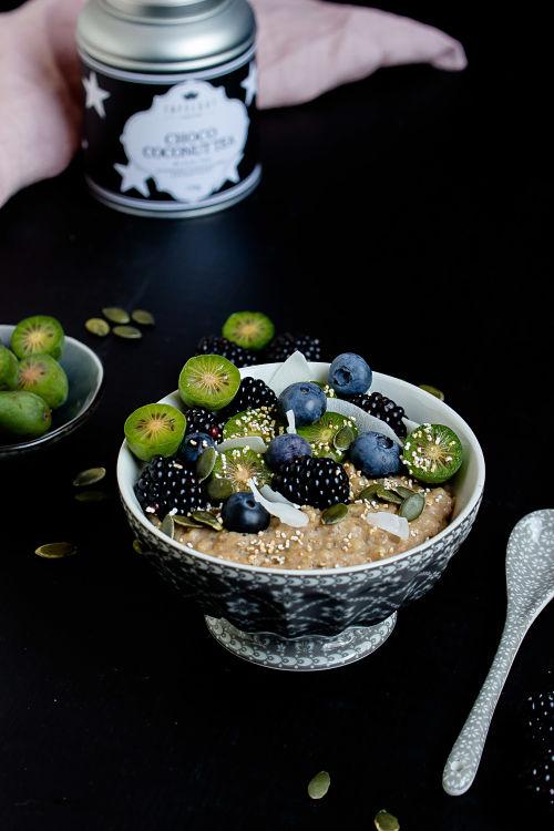 """Herbstliches Gewürz-Porridge """"Mein Frühstücksglück"""" 2"""