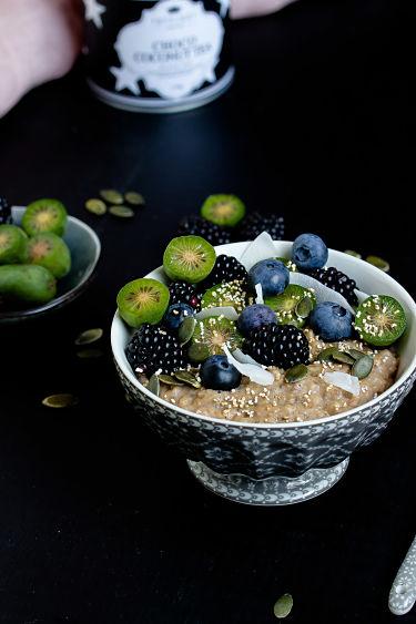"""Herbstliches Gewürz-Porridge """"Mein Frühstücksglück"""" 4"""
