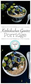 """Herbstliches Gewürz-Porridge """"Mein Frühstücksglück"""" 12"""