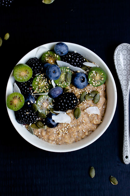"""Herbstliches Gewürz-Porridge """"Mein Frühstücksglück"""" 6"""