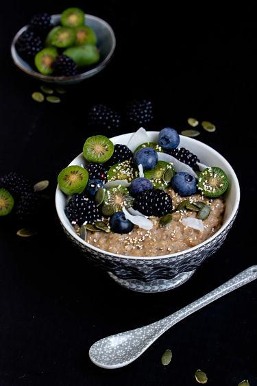 """Herbstliches Gewürz-Porridge """"Mein Frühstücksglück"""" 7"""