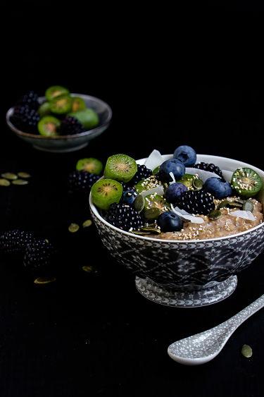 """Herbstliches Gewürz-Porridge """"Mein Frühstücksglück"""" 8"""