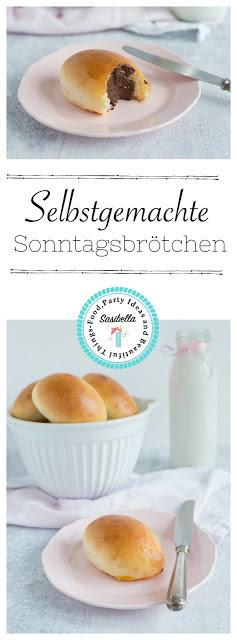 """Weiche Sonntagsbrötchen - zu Gast bei """"Mein Frühstücksglück"""" 2"""