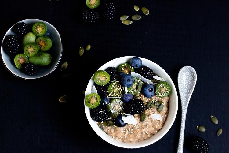 """Herbstliches Gewürz-Porridge """"Mein Frühstücksglück"""" 1"""