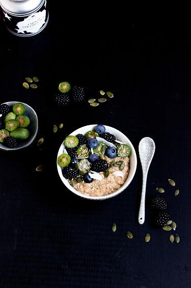 """Herbstliches Gewürz-Porridge """"Mein Frühstücksglück"""" 3"""