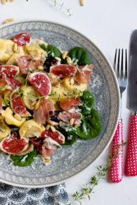 Ein grandioses Rezept mit Feigen,Tortellini in Feigensauce.