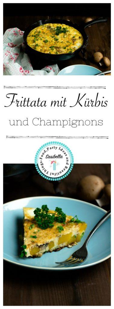 Frittata mit Butternut-Kürbis und Champignons - Mein Frühstücksglück 15