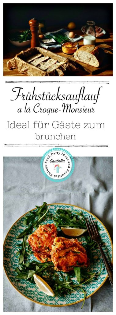 "Frühstücks-Auflauf alá Croque-Monsieur  ""Mein Frühstücksglück"" 4"