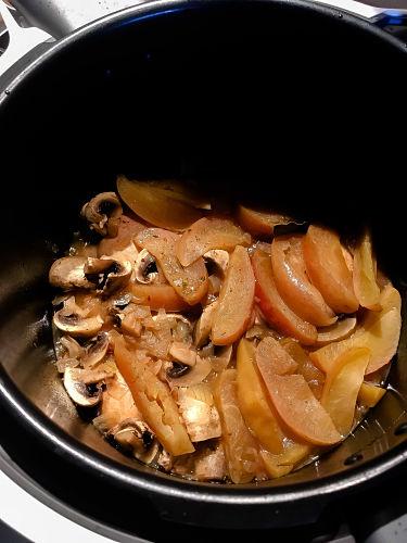 Französisches Calvados-Hähnchen im Cook4Me Multicooker von Krups 4