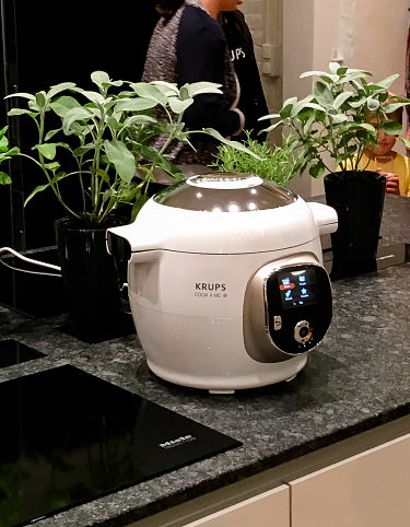 Hähnchen im Cook4Me Multicooker von Krups.