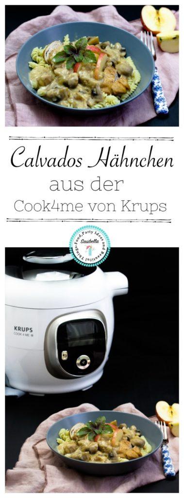 Französisches Calvados-Hähnchen im Cook4Me Multicooker von Krups 7