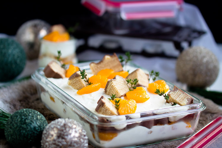Baumkuchen-Dessert mit Orangen + Licor43 / Verlosung EMSA (Werbung) Foodblogger Adventskalender 7
