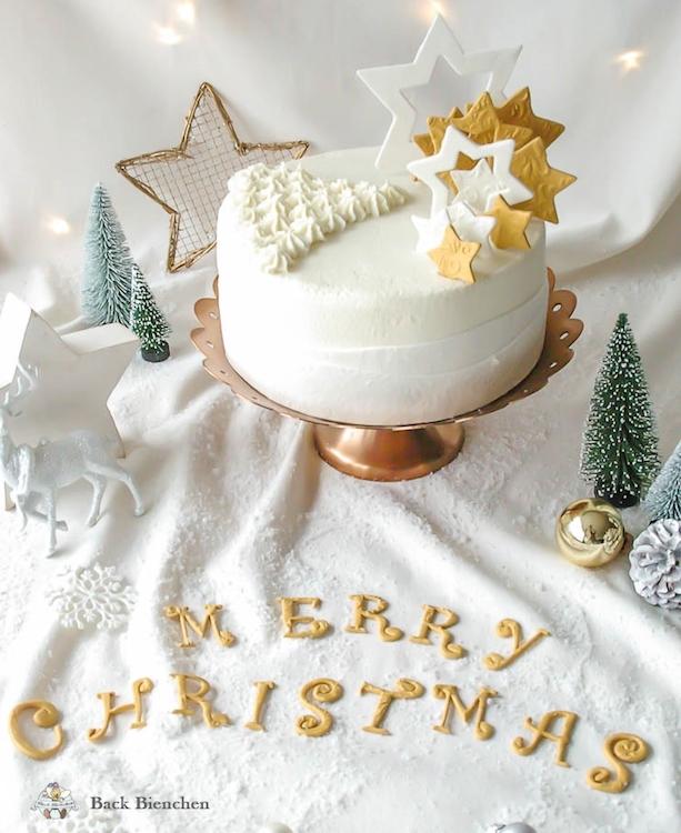 Winterzauber - eine einfache Weihnachtstorte mit Gewürzen / Adventskalender Türchen 9 4