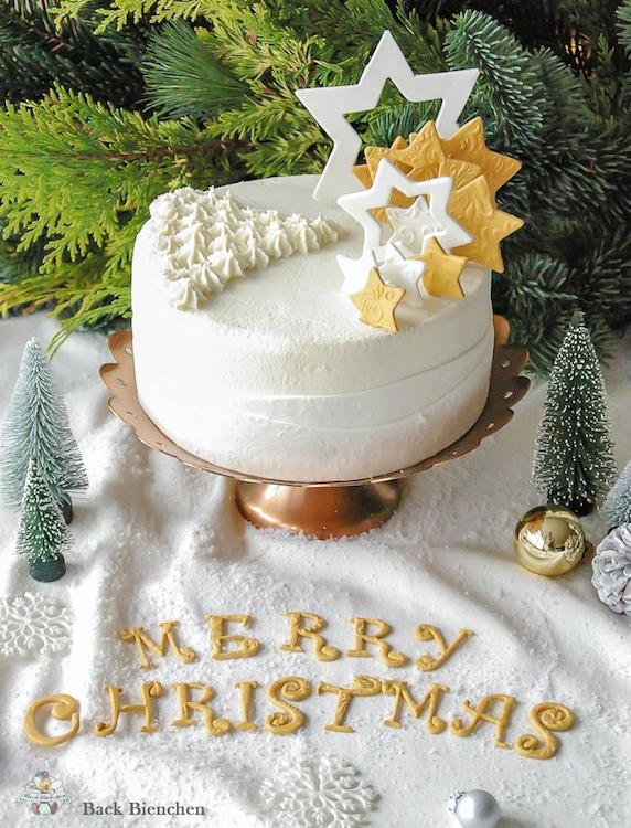 Winterzauber - eine einfache Weihnachtstorte mit Gewürzen / Adventskalender Türchen 9 7