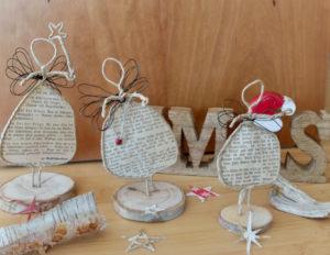 DIY für kleine Engel aus Papier und Draht –