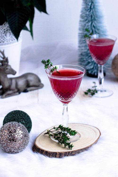 Weihnachtspunsch mit Thymian + Auslosung Cafissimo Gewinnspiel / Adventskalender Türchen 24 35
