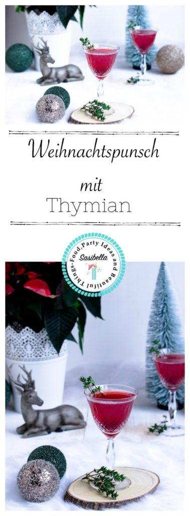Weihnachtspunsch mit Thymian + Auslosung Cafissimo Gewinnspiel / Adventskalender Türchen 24 39