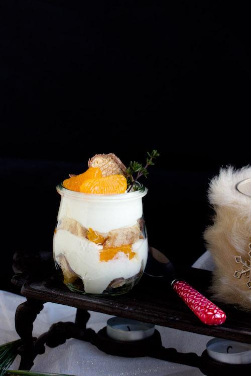 Baumkuchen-Dessert mit Orangen + Licor43 / Verlosung EMSA (Werbung) Foodblogger Adventskalender 17