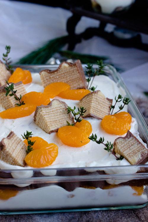 Baumkuchen-Dessert mit Orangen + Licor43 / Verlosung EMSA (Werbung) Foodblogger Adventskalender 21