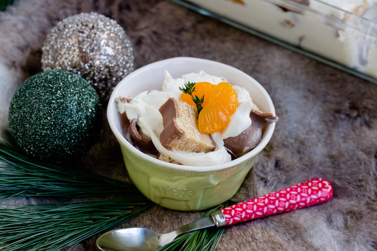 Baumkuchen-Dessert mit Orangen + Licor43 / Verlosung EMSA (Werbung) Foodblogger Adventskalender 22
