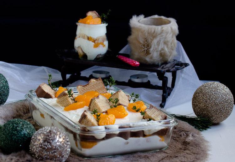 Baumkuchen-Dessert mit Orangen + Licor43 / Verlosung EMSA (Werbung) Foodblogger Adventskalender 1