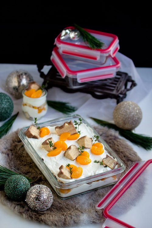Baumkuchen-Dessert mit Orangen + Licor43 / Verlosung EMSA (Werbung) Foodblogger Adventskalender 13