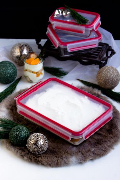 Baumkuchen-Dessert mit Orangen + Licor43 / Verlosung EMSA (Werbung) Foodblogger Adventskalender 15
