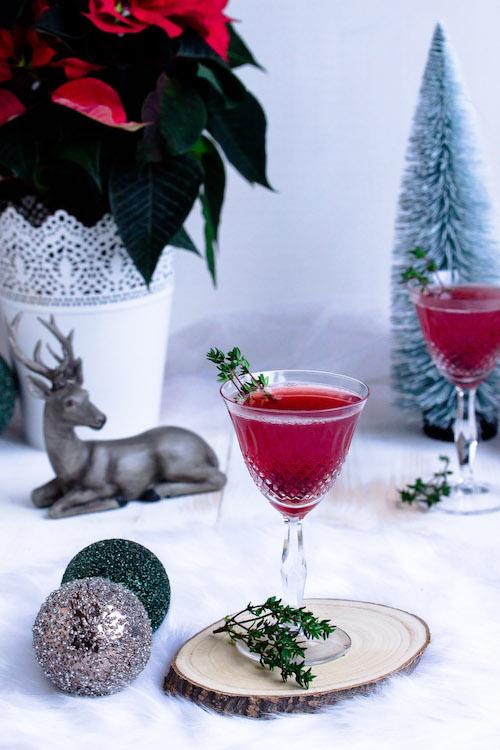 Weihnachtspunsch mit Thymian + Auslosung Cafissimo Gewinnspiel / Adventskalender Türchen 24 37
