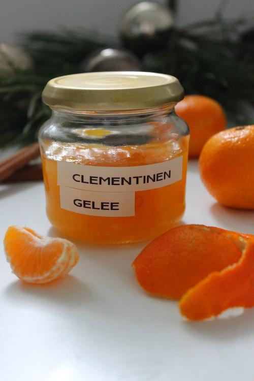 Fruchtiges Clementinen Gelee / Adventskalendertürchen 20 19