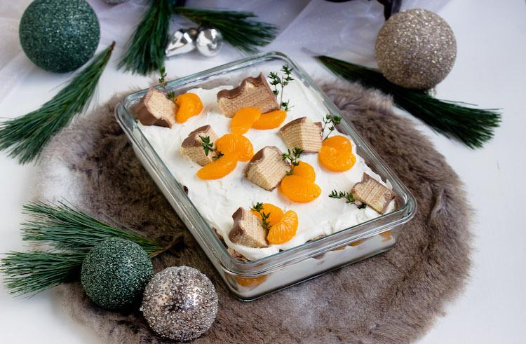 Baumkuchen-Dessert mit Orangen + Licor43 / Verlosung EMSA (Werbung) Foodblogger Adventskalender 10