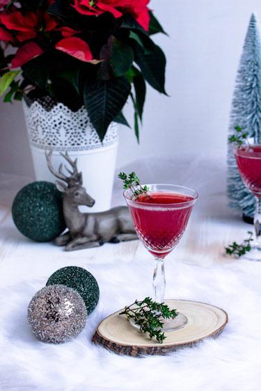 Weihnachtspunsch mit Thymian + Auslosung Cafissimo Gewinnspiel / Adventskalender Türchen 24 29