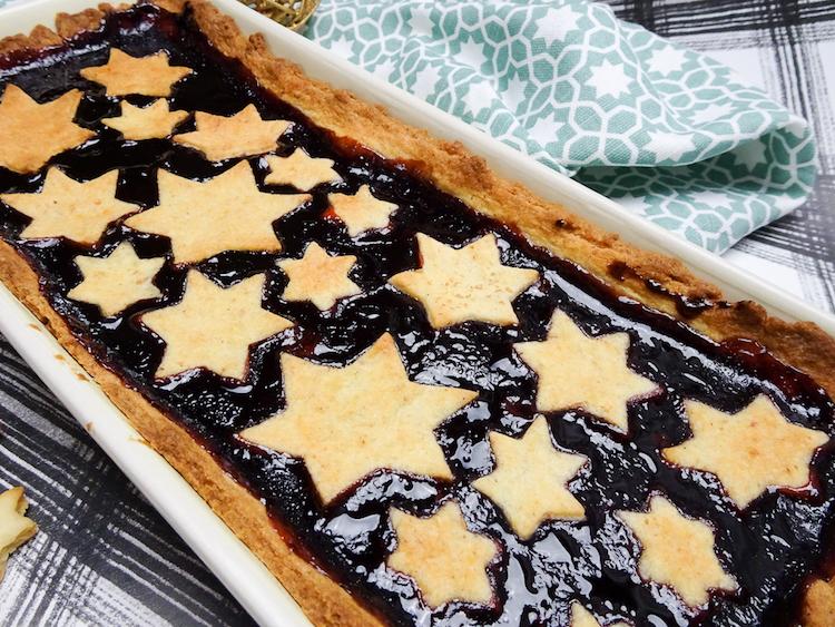 Süße Weihnachtstarte / Adventskalender Türchen 13 14