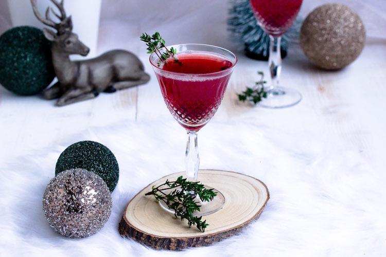 Weihnachtspunsch mit Thymian + Auslosung Cafissimo Gewinnspiel / Adventskalender Türchen 24 32